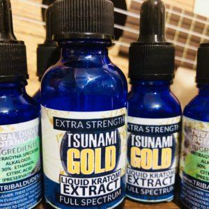 TSUNAMI GOLD  (M. Speciosa Extract)